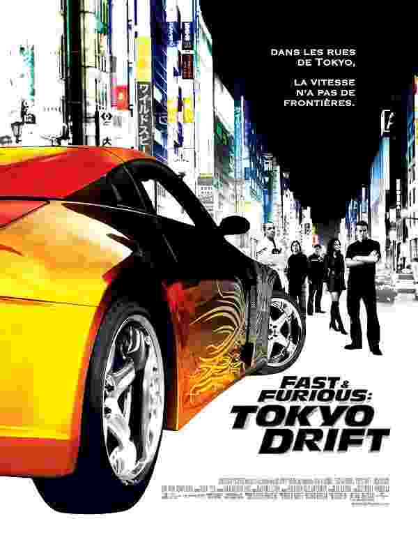 Parodie de 'Fast & Furious 3: Tokyo Drift'