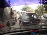 Typical Shillong Traffic Jam