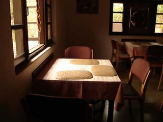 Light on the Dining Hall