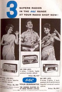 GEC Radios (The General Electric Co. of India Private Limited)