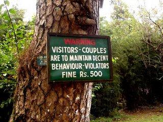 Lady Hyderi Park, Shillong - Notice