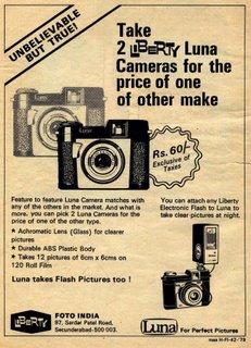 Liberty Luna Cameras