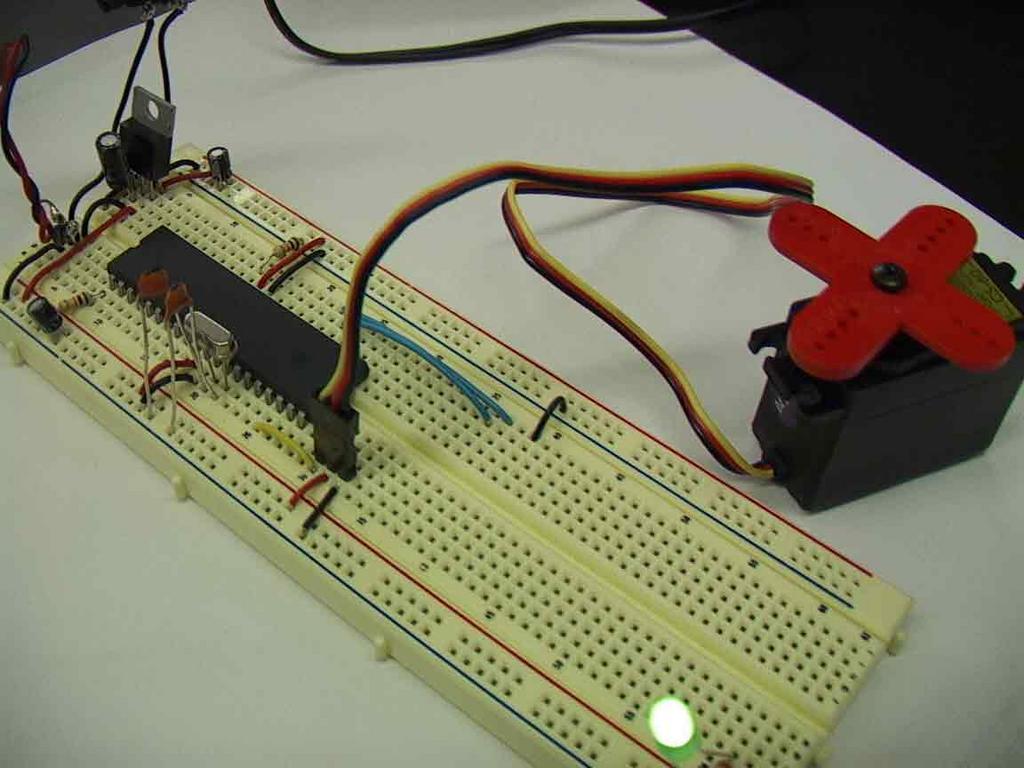 Physical computing servo motor pulse width var for Servo motor pulse width