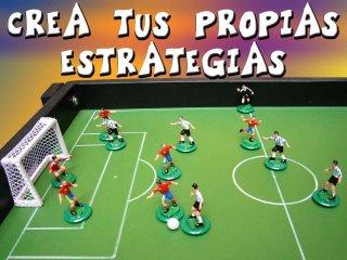 Futbol fusion estilos de futbol de mesa octubre 2013 for Juego de mesa de futbol