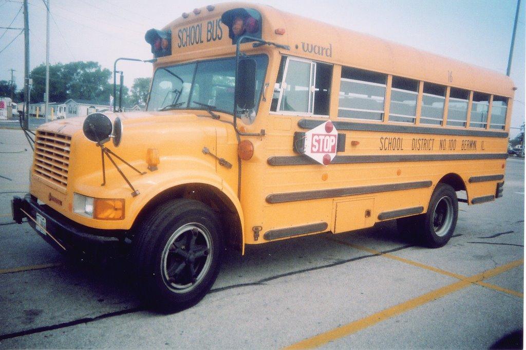 School Bus Fan : Eddie s rail fan page july
