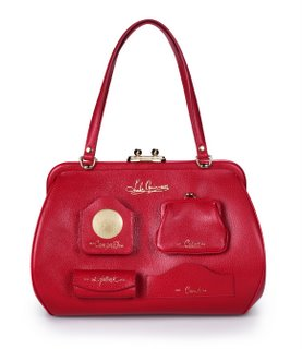 BagTrends by Pamela Pekerman: Red Bags are Red Hot for Fall 2006 :  handbag fall trends kisslock bag