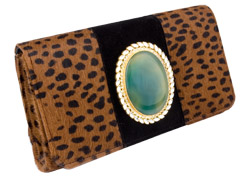 BagTrends by Pamela Pekerman: Animal Print Bags - Isharya clutch :  isharya pony hair jewelry trend
