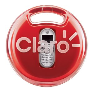 Packaging for Claro mobile phones