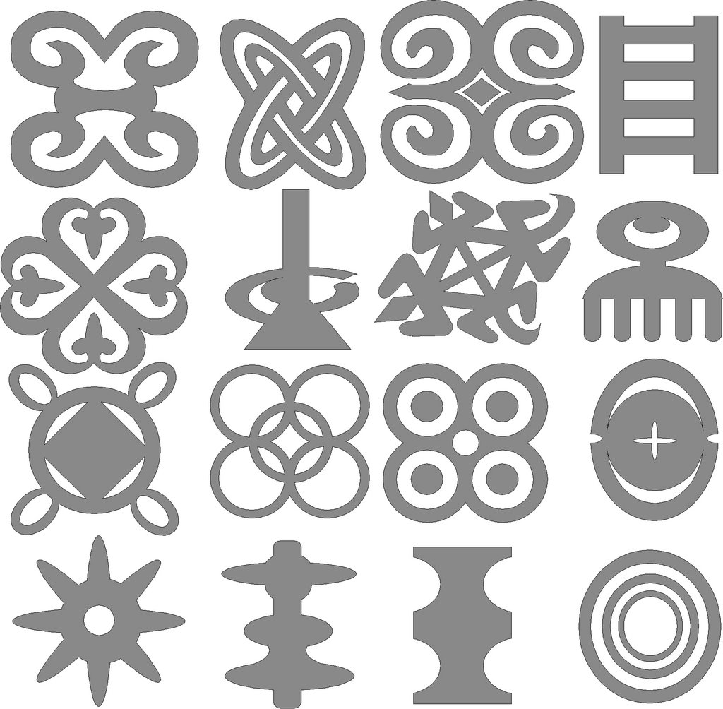 Terrywu adinkra symbols adinkra sometimes andinkra symbols are small symbolic pictures used to decorate colorful patterned cloth by fabric designers in ghana biocorpaavc Image collections