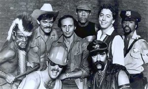 Village People with Henri Belolo and Jacques Morali in 1978