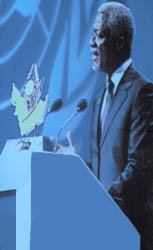 Kofi Annan, United Nations Secretary General
