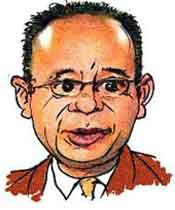 caricatura de Alcaraz por Sorrocloco