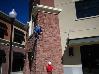 The first ascent of Free Lunch in Park City's Redstone Center
