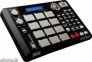 Akai MPC500 MIDI Production System/Sampler - buyat zZounds Online