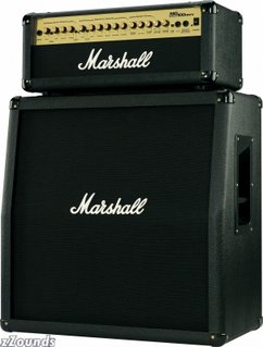 Marshall MG Guitar Amplifier Half Stack with MG100HDFX Head and MG412A Cabinet