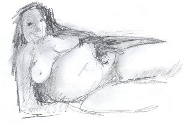 prelim pencil sketch