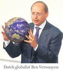 Dutch globalist Ben Verwaayen