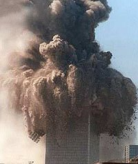 WTC being demolished 9/11