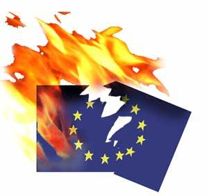 EU is doomed. Globalizating, one federal state, corrupt, unaccountable, laden with ridiculous laws and bureaucracy and red tape. posioned sovereign nations brought into pathetic compliance