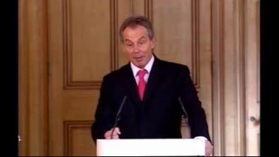 Blair mad