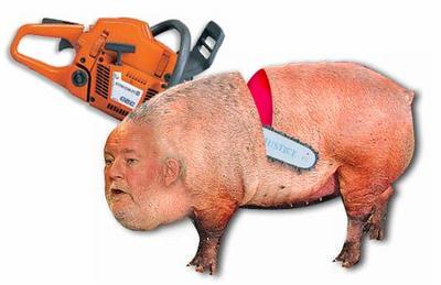 Fat evil pig traitor evil corrupt Charles Clarke