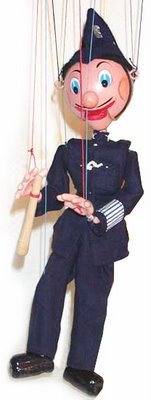 Puppet police