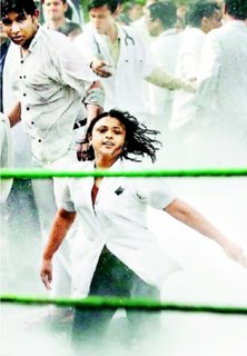Defiant medico girl