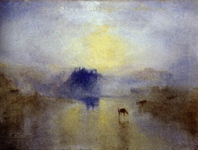 Norham Castle, Sunrise by Turner
