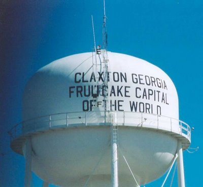 Claxton - Fruitcake Capital of the World