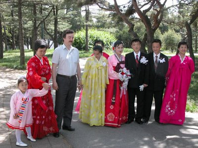 A North Korean wedding - by Peter Sobolev
