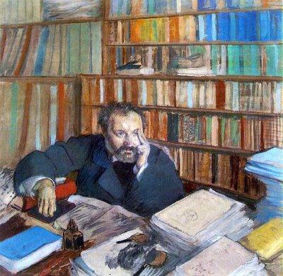 Portrait de M Duranty by Degas