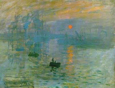 Sunrise by Monet