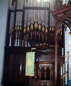 Holy Trinity Chatham Organ