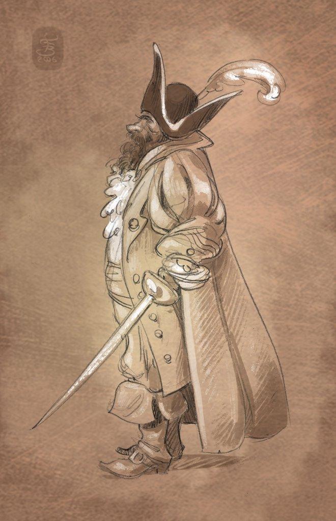 B E R T O L U C C I: Il pirata Barbanera