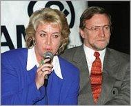 Cheryl Kernot and Gareth Evans