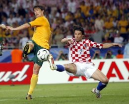 Kewell scores against Croatia