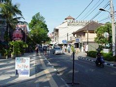 Kuta Beach Street, Bali, Indonesia
