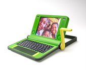 Lime OLPC project laptop