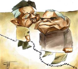 Musharraf and Vajpayee