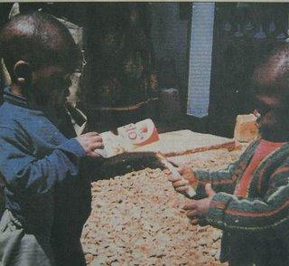 In Kamerun gab es viel Neues zu sehen
