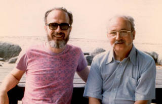 Bill Hunter and George Box