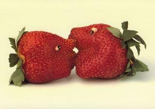Kissing Strawberries