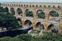 A Roman viaduct