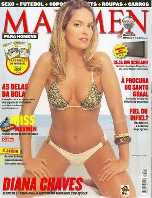Diana Chaves – Maxmen Maio 2006