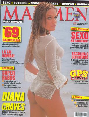 Diana Chaves – Maxmen setembro 2005