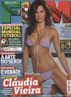 Cláudia Vieira – FHM Junho 2006