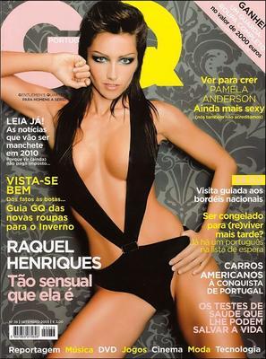 Raquel Henriques – GQ setembro 2005