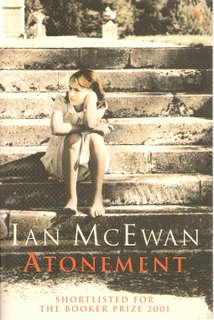 Atonement bookcover; Vintage