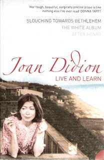 Live and Learn bookcover; Harper Perennial