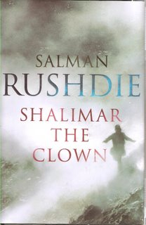 Shalimar the Clown bookcover; Jonathan Cape
